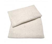 Тряпка для пола 50х60 см редкопрошивная 0,5 белая 180г/м2 TS4408