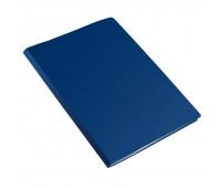 Папка с зажимом метал. Attache 20мм Label синий
