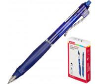 Ручка гелевая Attache Flagman,0,5мм, синий, автом., с манжеткой