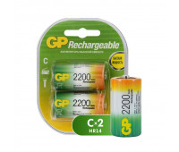 Аккумулятор GP 220CHC типоразмер C емкость 2200 mAh бл/2шт
