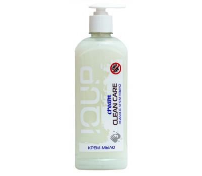 "Жидкое крем мыло IQUP ""Clean Care Cream"", с дозатором, 0,5 л"