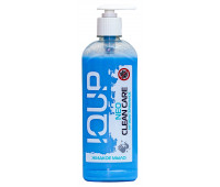 Антибактериальное жидкое мыло IQUP Clean Care Luxe NEO, с дозатором, 0,5 л
